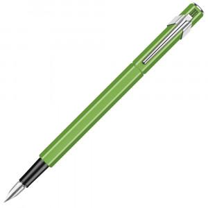 Caneta Tinteiro Caran d'Ache 849 Pena M Verde Fluo