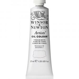 Tinta Óleo Artist 37ml Winsor & Newton S1 644 Titanium White