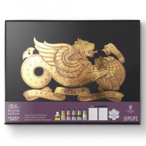 Estojo Tinta Acrílica Galeria Winsor & Newton Gift Collection 10 Peças