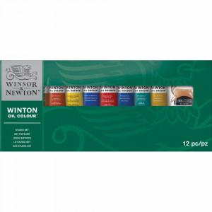 Estojo Tinta Óleo Winton Winsor & Newton 12 Peças