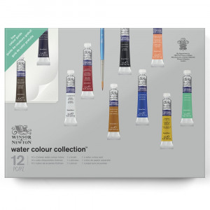 Tinta Aquarela Winsor & Newton Cotman Collection 12 Peças