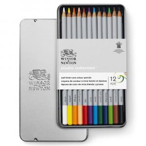 Lápis de Cor Winsor & Newton Studio Collection 12 Cores