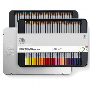 Lápis de Cor Winsor & Newton Studio Collection 48 Cores