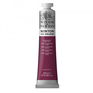 Tinta Óleo Winton 200ml Winsor & Newton 250 Quinacridone Deep Pink