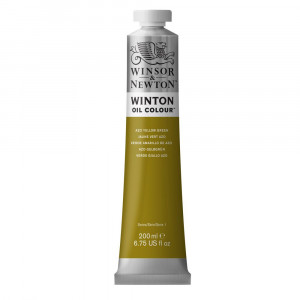 Tinta Óleo Winton 200ml Winsor & Newton 280 Azo Yellow Green
