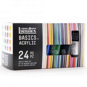 Tinta Acrílica Liquitex Basics 22ml 24 Cores