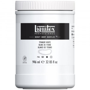 Tinta Acrílica Liquitex Heavy Body White 946ml