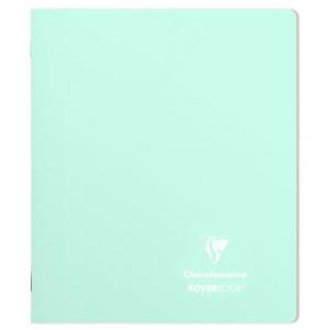 Caderno Pautado Koverbook Clairefontaine A5 Azul Pastel