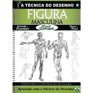 A Técnica do Desenho Figura Masculina - Jayme Cortez