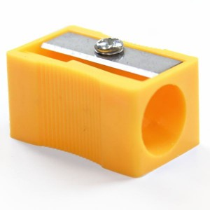 Apontador Para Lápis Jumbo Amarelo Keramik