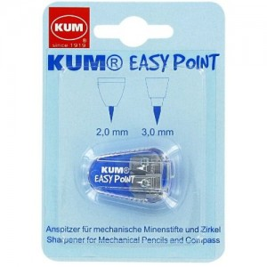 Apontador  Para Grafite 2.0mm e 3.0mm Kum Easy Point