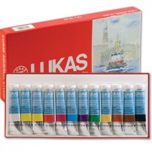 Aquarela Lukas 12 Cores 12ml 6104