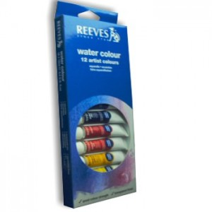 Aquarela Reeves 12 Cores de 12ml