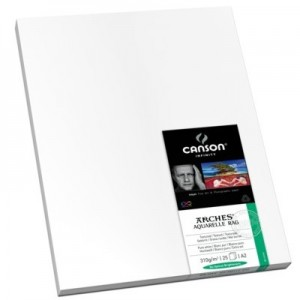 Papel Impressão Fine Art Arches® Aquarelle Rag 310 g/m² A3 25 Fl