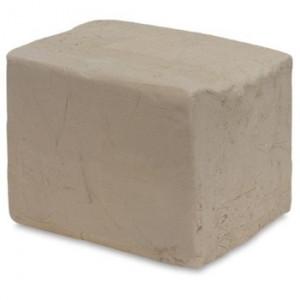 Argila Para Escultura e Artesanato Branca Chamote Fino 10 Kg