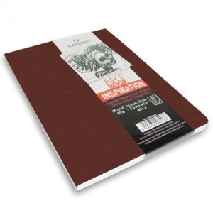 Caderno Para Sketch ART BOOK Inspiration Canson A6x2 Terracota