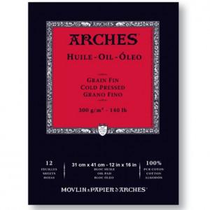 Bloco de Papel Para Tinta Óleo Arches® Oil 31x41cm