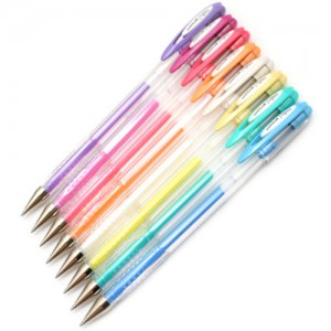 Caneta Gel  Uni Ball Signos Angelic Colour 08 Cores