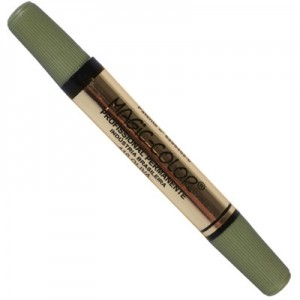 Caneta Magic Color Ponta Dupla 410 Verde Oliva
