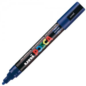 Caneta Posca Uni Ball PC-5M Azul