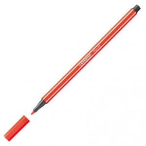 Caneta Stabilo Pen 68 40 Vermelho