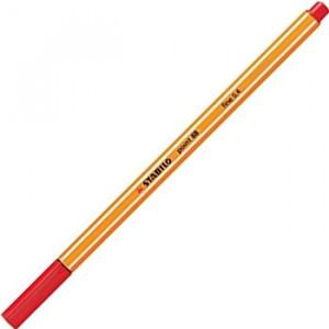 Caneta Point 88 Stabilo 0.4mm 40 Vermelho