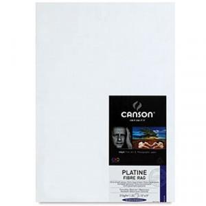 Papel Impressão Fine Art Platine Fibre Rag 310g/m² A4 25 Fl