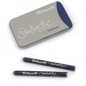 Carga Para Caneta Tinteiro Pelikan Edelstein Sapphire C/6
