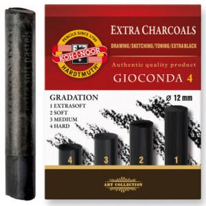 Carvão Graduado Koh I Noor 04 Durezas 8694