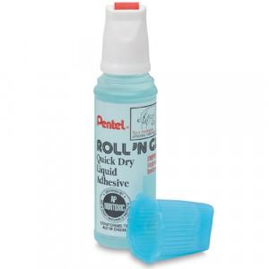 Cola Líquida Pentel Roll'n Glue Transparente