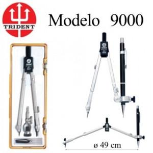 Compasso TRIDENT 9000 com Adaptador Universal