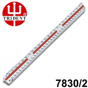 Escalímetro Triangular Trident 30cm - 02