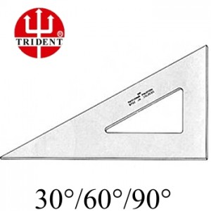 Esquadro Trident sem escala 60º 2650 50cm