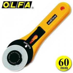 Estilete Rotativo Circular 60mm OLFA RTY-3/G