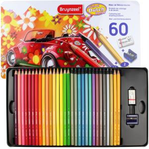 Lápis Para Desenho Bruynzeel 60 Peças