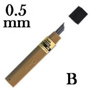 Mina Grafite Pentel 0.5mm B