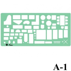 Gabarito Arquitetura A-01 Móveis Trident