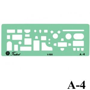 Gabarito Arquitetura A-04 Móveis Trident