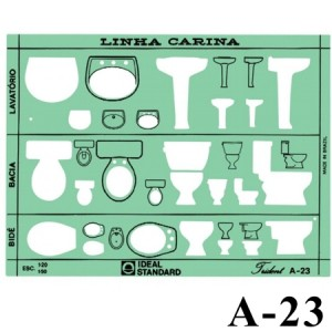 Gabarito Arquitetura A-23 Instalações Sanitárias Trident