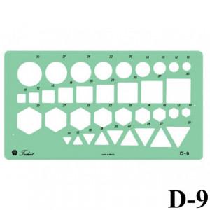 Gabarito Desenho D-09 Combinados Trident