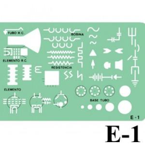 Gabarito Eletricidade E-01 Alta e Baixa Tensão Trident