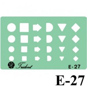 Gabarito Eletricidade E-27 Organização e Métodos Trident