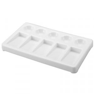 Godê Plástico Retangular 10 Cavidades SFA005