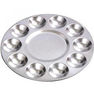 Godê de Alumínio Redondo 10 Cavidades SFA061