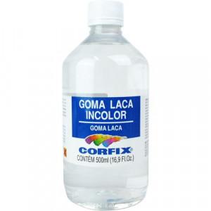 Goma Laca Incolor Corfix  500ml