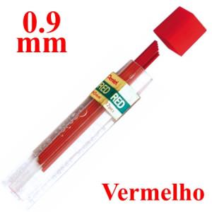 Mina Grafite Pentel 0.9mm Vermelho