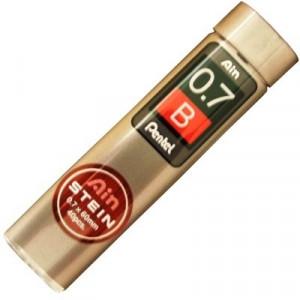 Mina Grafite Pentel AIN STEIN 0.7mm B