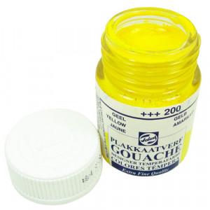 Tinta Guache Para Caligrafia Talens 16ml 200 Yellow