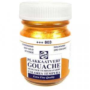 Tinta Guache Para Caligrafia Talens 50ml 803 Deep Gold