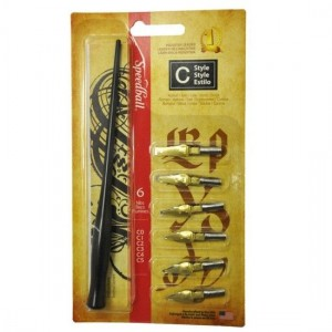 Kit para Caligrafia Speedball C Style 2957